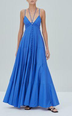 Sabelle Sleeveless Maxi Dress By Alexis | Moda Operandi Cobalt Blue Dress, Foto Casual, Latest Dress, Ladies Dress Design, Designer Dresses, Luxury Fashion, Couture Fashion, Diy Fashion, Clothes For Women