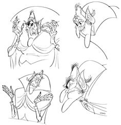 Designing Vlad and Bela: In-Depth With 'Hotel Transylvania 2' Production Designer Michael Kurinsky | Cartoon Brew
