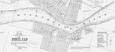The City of Portland Oregon Planning and Sustainability Maps Page. Historic resources, reference, and historical maps.