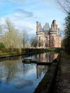 Château de Trévarez, Finistère, France Region Bretagne, Bretagne France, Beautiful Castles, Beautiful Buildings, Beautiful Places, French Castles, Brittany France, Ville France, Fortification