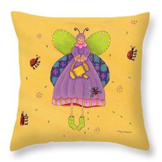 Matilda Throw Pillow for Sale by Tracy Campbell