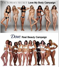 Real beauty-Victorias-Secret-vs-Dove-women
