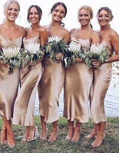 Summer Bridesmaid Dresses, Champagne Bridesmaid Dresses, Wedding Party Dresses, Maxi Dresses, Dress Prom, Wedding Bridesmaids, Lace Bridal, Bridal Gown, Bridal Dresses