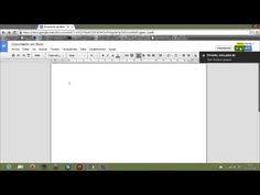 Crear y compartir un documento en Google Docs - Drive - YouTube