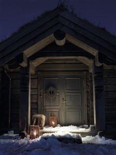 Une cabane traditionnelle en Norvège     PLANETE DECO a homes worldPLANETE DECO a homes world