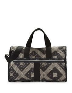 LESPORTSAC Large Weekender Duffel Bag
