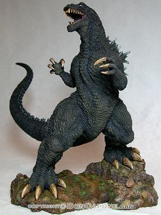 Godzilla Figures, All Godzilla Monsters, Godzilla Toys, Horror Monsters, Scary Monsters, Famous Monsters, Japanese Monster Movies, Giant Monster Movies, Don Capone
