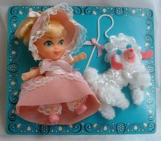 little kiddles dolls from the 1960s | SPRINKLES AND PUFFBALLS: Fancy Fairy Tale Kiddles and Kiddles Houses