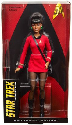 New 'Star Trek' Barbie Dolls Released For The 50th Anniversary