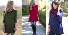 Fall Favorite Tunic! 8 Colors!   Jane