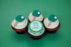 Ping Pong Cupcakes I Party, Cupcakes, Events, Cookies, Desserts, Crack Crackers, Tailgate Desserts, Cupcake Cakes, Deserts