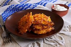 Looking for a perfect comfort food to usher in autumn? Homemade sweet potato pancakes and vegan sour cream will hit the spot!