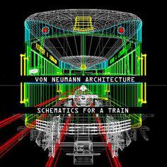 VON NEUMANN ARCHITECTURE - Schematics For A Train