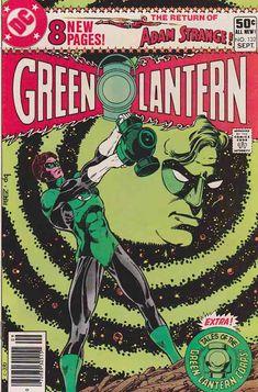 Green Lantern #132. Trial of Arkkis Chummuck Pt.3  / George Perez Cover Art   #greenlantern #comicbooks #dccomics