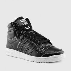 adidas - Top Ten Hi (Black | White)