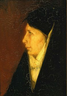 Profile of a Woman's Head by Henry Ossawa Tanner / American Art