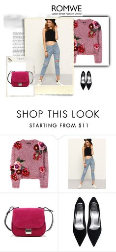 """Romwe fashion"" by lolitapapita ❤ liked on Polyvore featuring Dolce&Gabbana and Proenza Schouler"