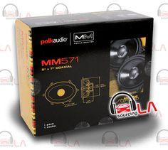 "Sourcing-LA: POLK AUDIO MM571 5 x 7"" 2-WAY CAR AUDIO MARINE CER..."