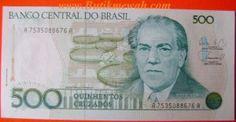 old Brazilian banknote