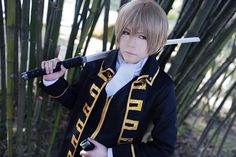 Applex96(Mantou) Sougo Okita Cosplay Photo - WorldCosplay