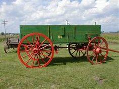 Antique John Deere Studebaker IH Wooden wheel Farm Wagons for Sale Wagons For Sale, Wheels For Sale, Wooden Wagon, Wooden Wheel, Central Illinois, Steel Wheels, Horse Drawn, Ih, Horses