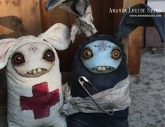 amansa louise strange dolls