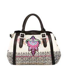 52X50W3_1019 Desigual Bag Canarias Perforado Ethnic, Canada