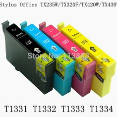 12 INK 133 T1331-T1334 compatible ink cartridge for EPSON Stylus Office TX235W/TX320F/TX420W/TX430W  printer 4Color/set