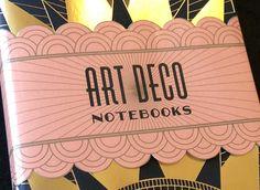 Art Deco Notebooks