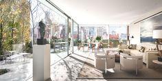 Tribeca penthouse re-design by Steven Harris