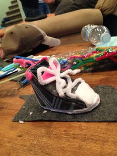 Little hand made shoe