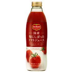 デルモンテ 国産 <旬にしぼったトマトジュース> - 食@新製品 - 『新製品』から食の今と明日を見る!