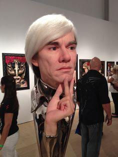 Spotted Andy at Scope during Art Basel. Via MoreThanSunshine.com