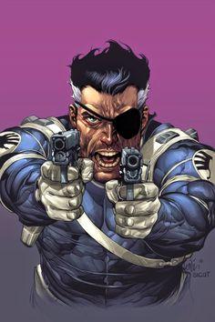 Universo HQ: NICK FURY (MARVEL COMICS)