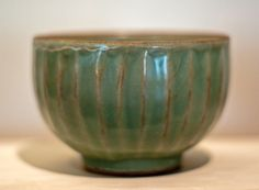 Celadon bowl  China, Sung or Yuan Dynasty, In the Musée Guimet, Paris