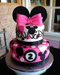 minnie mouse birthday cakes - Google Search