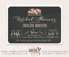 Hey, I found this really awesome Etsy listing at https://www.etsy.com/listing/157904579/floral-affair-custom-bridal-shower