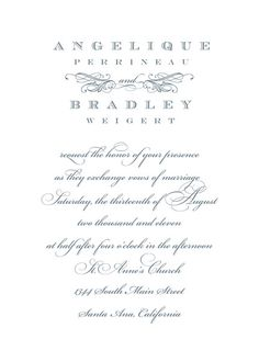 #Formal #Wedding #Invitation Invitation  Invitation