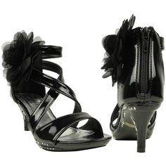 Kids Dress Sandals Rhinestone Flower Embelli Back Zipper BLACK Size 10 Generation Y http://www.amazon.com/dp/B00CQHYWQ8/ref=cm_sw_r_pi_dp_MVm7ub1GYC2N5
