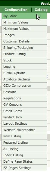 Easy Help Zen Cart Tutorial: Here is a handy overview of all of the Admin – Configuration – My Store settings