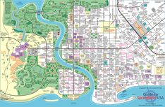 Springfield (from the Simpsons) town map