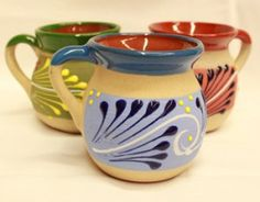 Hand Crafted Coffee Mugs Pottery Art Wheel Ideas