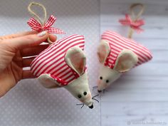 Video Tutorial: Sewing Sweet Mice from Fabric Leftovers, фото № 2 Mouse Crafts, Felt Crafts, Diy Crafts, Sewing Tutorials, Craft Tutorials, Sewing Patterns, Tutorial Sewing, Skirt Patterns, Dress Tutorials