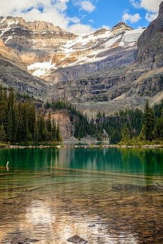 Lake O'Hara, Yoho National Park / Canada (by It's a beautiful world Canada National Parks, Yoho National Park, Cool Landscapes, Beautiful Landscapes, Places To Travel, Places To See, Travel Destinations, Wonderful Places, Beautiful Places
