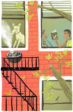Image result for street illustration matthew cruickshank