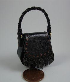 miniature handbags style: python