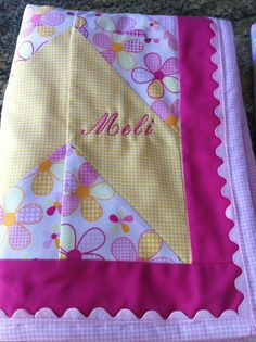 Sew Sew:  Serger Quilt 2013 - Personalized