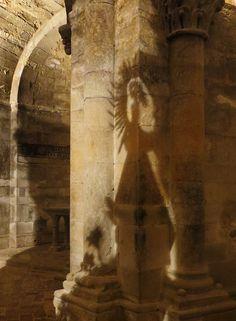 Présence de la Vierge, église abbatiale, monastère royal de Santa María de Veruela, Vera de Moncayo, province de Saragosse, Aragon, Espagne. #Aragon