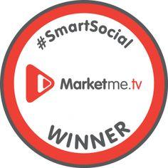 Yay, we are @Marketme TV #SmartSocial winners #SocialMedia rocks!