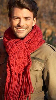 Easy Scarf to Knit pattern by Bernat Design Studio